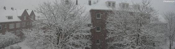 Snowfall - Amsterdam NL