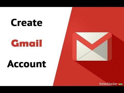 How To Create Gmail Account Id Google Id Urdu Hindi Accounting Youtube Create