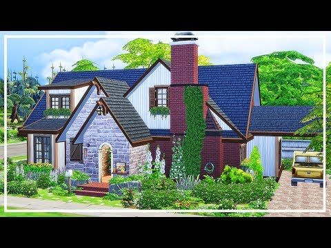 Sims 4 Family Home Speed Build Download Youtube Sims House