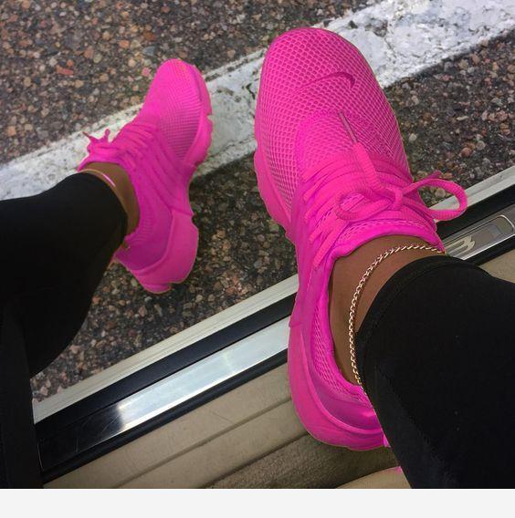 Bright pink sneakers | Pink sneakers