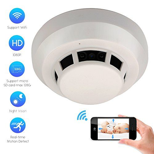 Discounted Camxsw Wifi Spy Camera Smoke Detector Hd 1080p Hidden