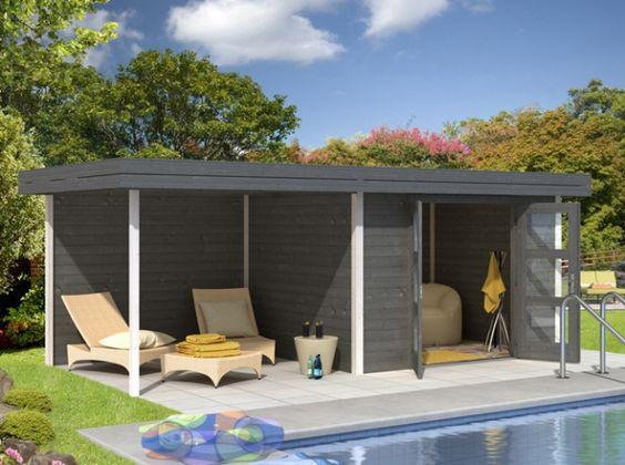 Pool house en kit, customisable à l'infini