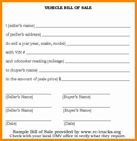 Vehicle Bill Of Sale Template Fillable Pdf Bill Of Sale Car Bill Of Sale Template Sales Template