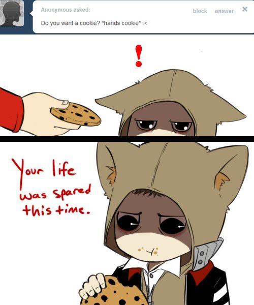 AskMercer: Cookie? by TheLizAngel