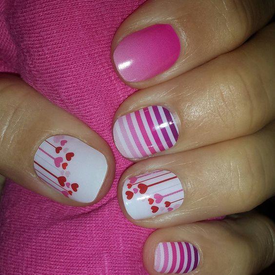 """#meltmyheartjn #venusjn #kissmeombrejn #jamberrynails"""
