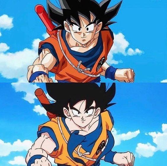 Goku Dragon Ball Z To Dragon Ball Super Anime Dragon Ball Super Anime Dragon Ball Dragon Ball Gt