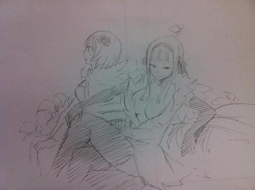 Sorano/Angel and Yukino Aguria by : https://twitter.com/hiro_mashima