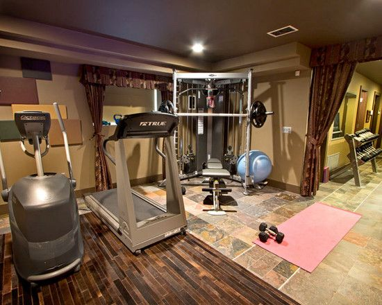 Home Gym Design Ideas Basement: Home Gym Small Home Gyms Design, Pictures, Remodel, Decor