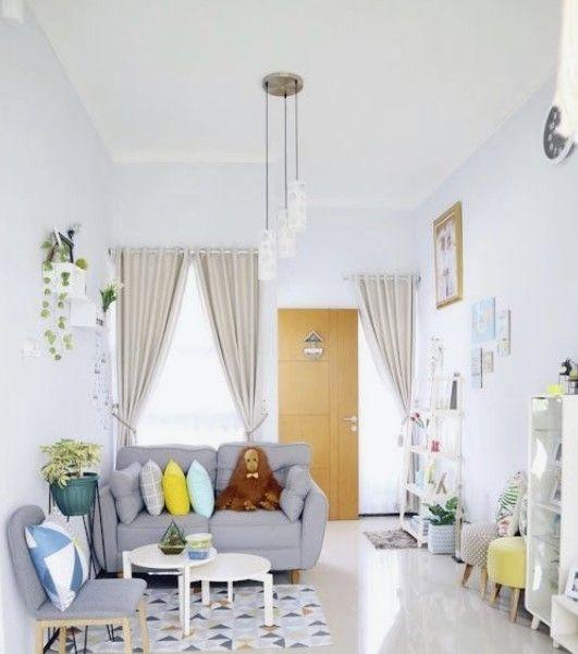 Inspirasi Desain Ruang Tamu Sederhana Minimalis Modern Desain Interior Ide Ruang Keluarga Ide Dekorasi Rumah