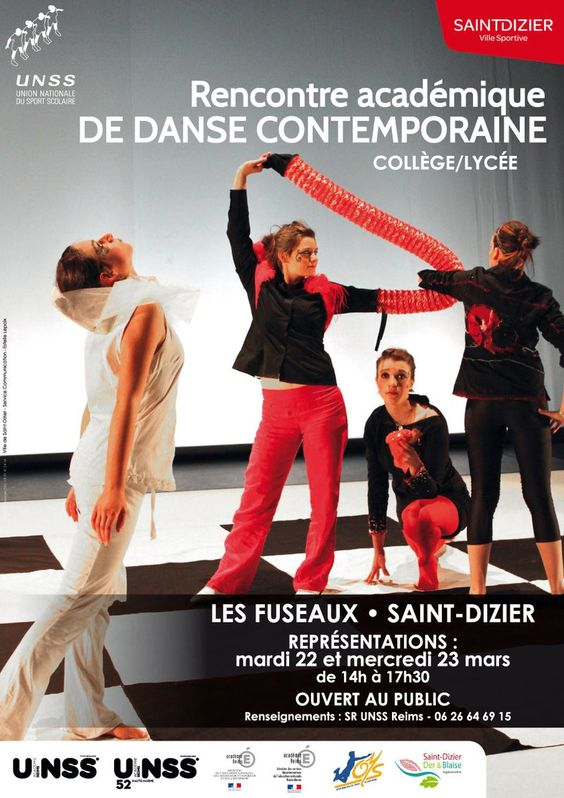 Rencontre académique de danse contemporaine