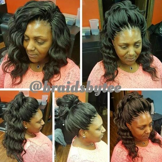 Crochet Braids Kima Ocean Wave Hair : hair tips hairstyles love love the waves braids crochet braids ocean ...