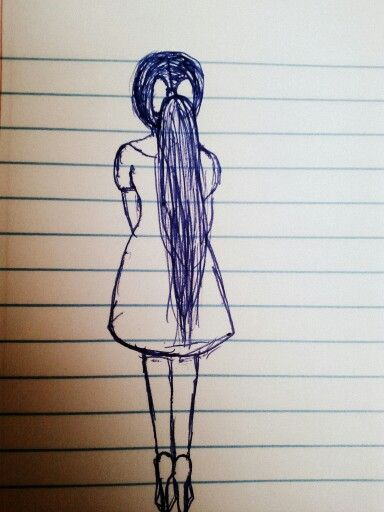 Drawings girly3 i love 2 draw drawings pinterest for Girly drawings step by step
