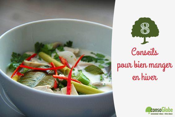 8 conseils pour bien manger en hiver | consoGlobe.com