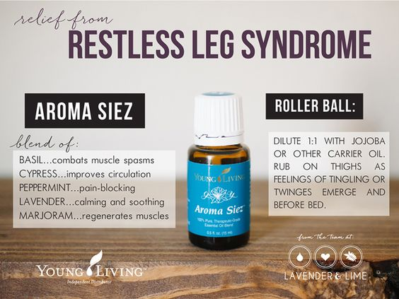 young living essential oils for restless leg syndrome, a personal testimony from the team at Lavender & Lime