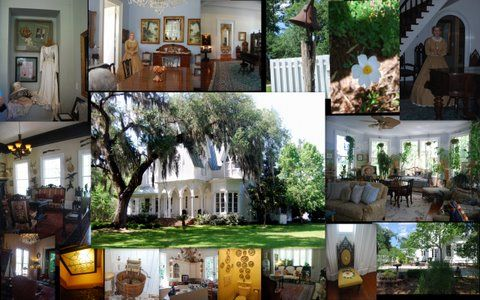 Tours of the Rose Hill Mansion are offered daily at 2pm reservations are required 843-757-6046