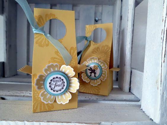 Anleitung Box für Ostern und sonst. Geschenke
