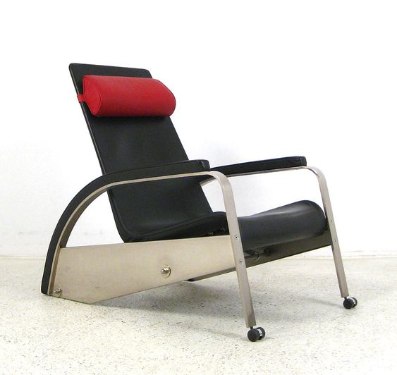 jean prouve for tecta grand repos lounge chair fauteuil. Black Bedroom Furniture Sets. Home Design Ideas