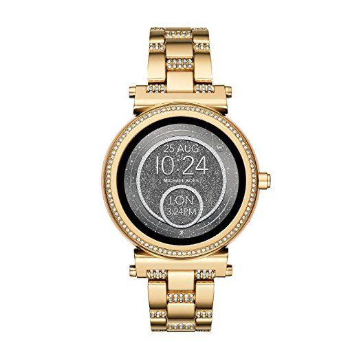 Michael Kors Damen Smartwatch Sofie Mkt5023 Damenuhr Handtaschen Michael Kors Smartwatch
