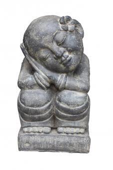 Verträumter Mönch Frangipani, 45 cm H