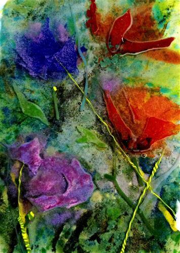 summer dreams - Original Fine Art for Sale - © by Kristen Dukat