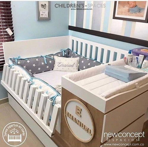 Consejos Básicos Al Comprar Una Cuna Para Bebés Children S Spaces Cunas Para Bebes Habitacion Para Bebes Varones Cama Cunas Para Niños