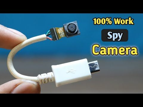 Usb Spy Mini Camera How To Make Real Spy Cctv Camera With Old Mobile Camera Youtube In 2020 Wifi Spy Camera Diy Security Camera Mobile Camera