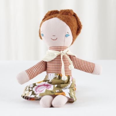 Wee Wonderfuls Doll™ (Fern) Land of Nod It would be so much fun to make something like this for della