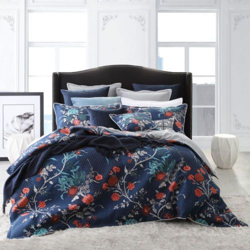 Pintuck Quilt Duvet Doona Cover Set Single//Queen//King All Size Bed Supersoft New