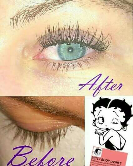 Lashed for success by BettyBoop Lashes Miami