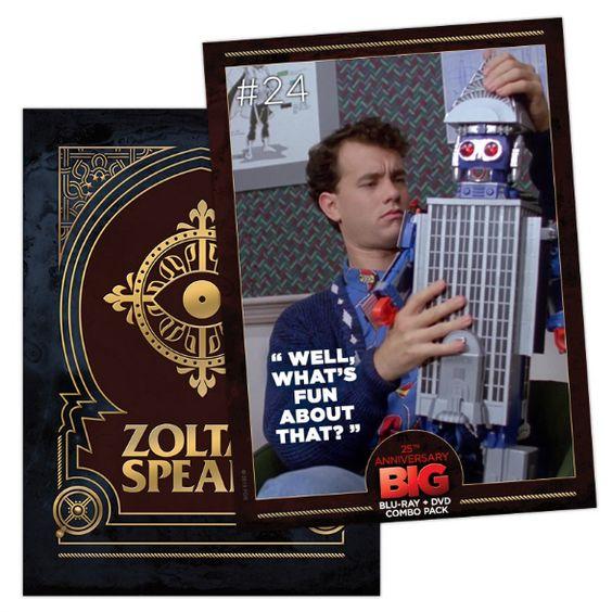 Big: 25th Anniversary Collectible Digital Trading Card #24