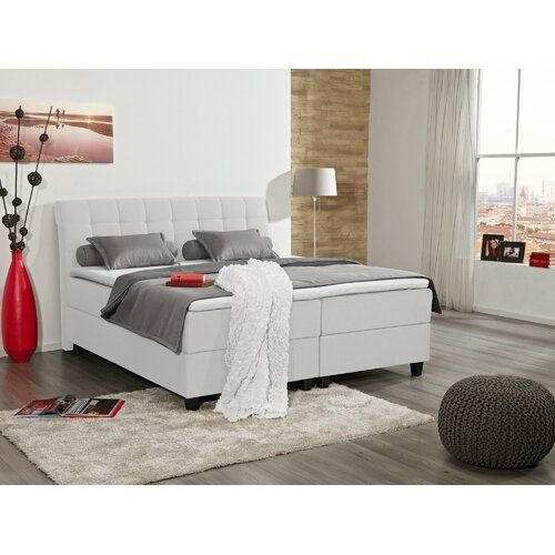 Boxspringbett Anne Marie Mit Topper Sommerallee Farbe Weiss