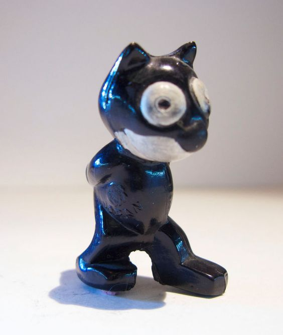 Felix The Cat Celluloid Toy (Pat Sullivan, 1920's)