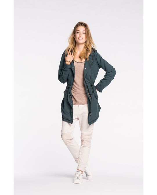 Asos curve Ultimate Summer Parka in Green   Lyst