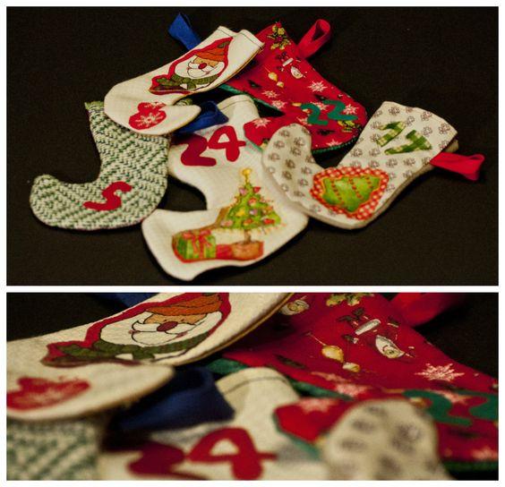 Nadal | 4 RACONS Calendari d'advent botetes | Calendario adviento, advent calendar