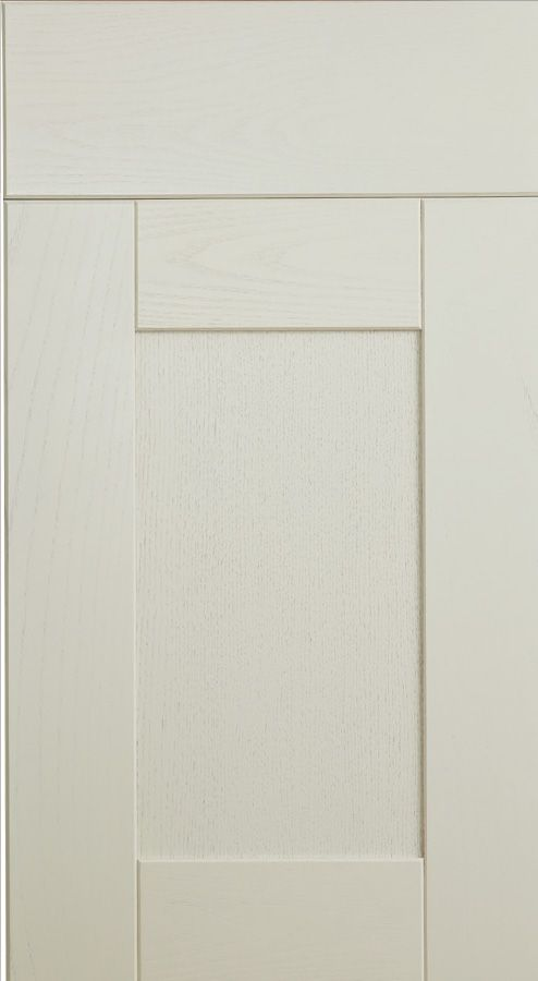 The Kitchen Door Guys Cheltenham Painted Ash Door, available in 8 paint colours.