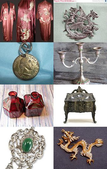 Of Dragons and Kings - VogueTeam Treasury