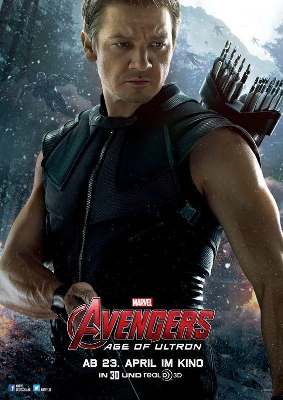 Avengers - Age Of Ultron - Marvel - Clint Barton / Hawkeye (Jeremy Renner) - kulturmaterial