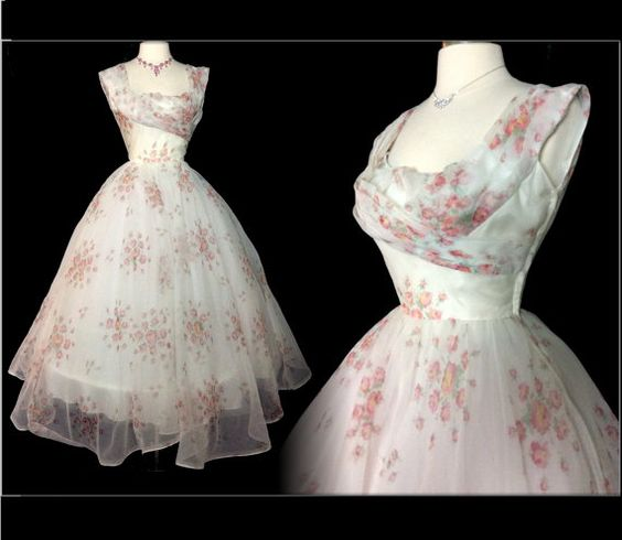 Vintage 1950s Dress//50 Dress//New by VintageDiva60 on Etsy