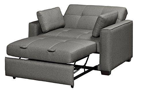Serta Sofa Sleeper Convertible Into Lounger Love Seat
