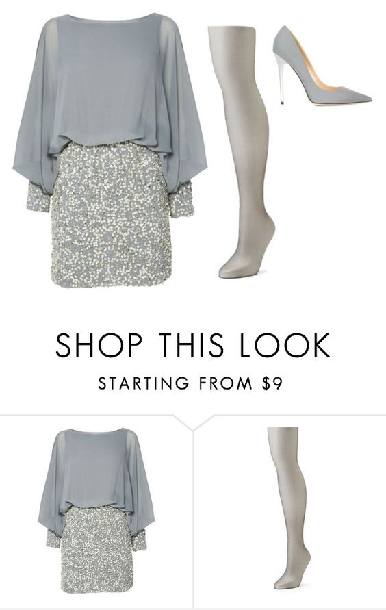 """Untitled"" by fionalilylove ❤ liked on Polyvore featuring Lace & Beads, Berkshire and Jimmy Choo"
