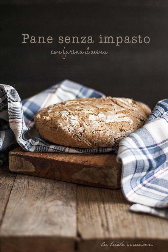 Pane senza impasto con farina d'avena by La tarte maison