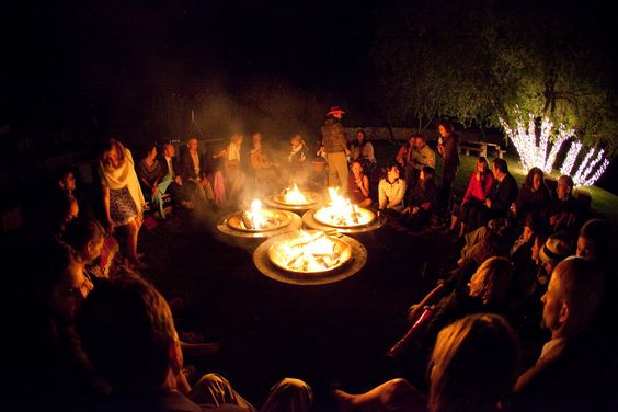 fire pit wedding - Google Search