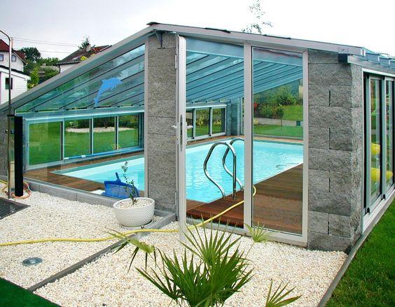 zimní zahrada s bazénem - Hledat Googlem