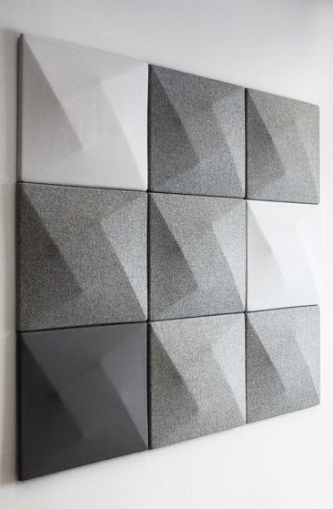 Kinnarps launches the sound absorber oktav designed by - Revetement mural acoustique absorption ...