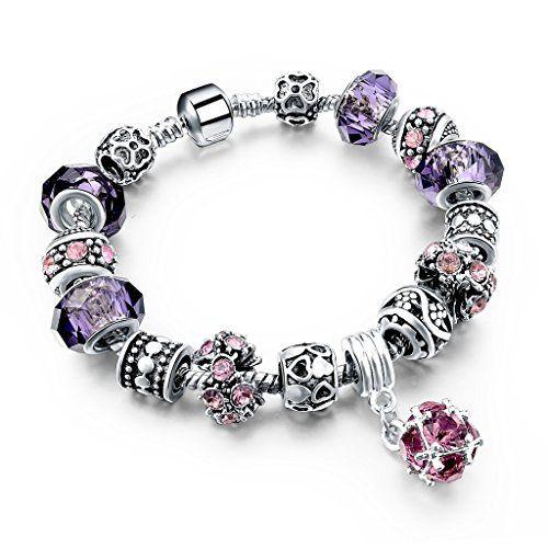 Elegant Women Charm Bracelet Jewellery Purple Crystal Flo... https://www.amazon.co.uk/dp/B01LCSXYEC/ref=cm_sw_r_pi_dp_x_7anPybQH1011P: