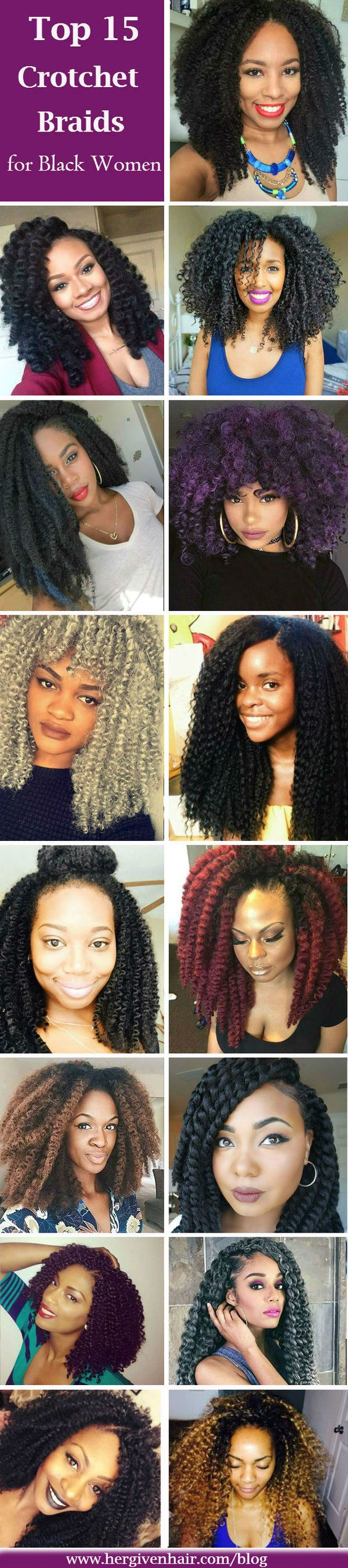Top 15 protective crochet braids for black women: