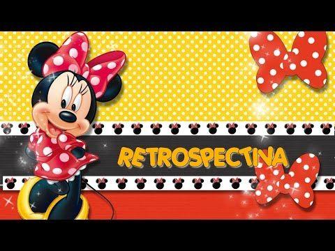 Projeto Para Retrospectiva Minnie Vermelha 30 Fotos Youtube
