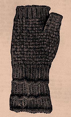 Vintage Stitch-O-Rama Free Pattern Emporium: Lady's Mitts, 1890