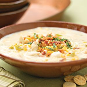 Corn-and-Crab Chowder. This creamy corn-and-crab chowder is a hearty, comforting meal, perfect for chilly fall and winter nights.