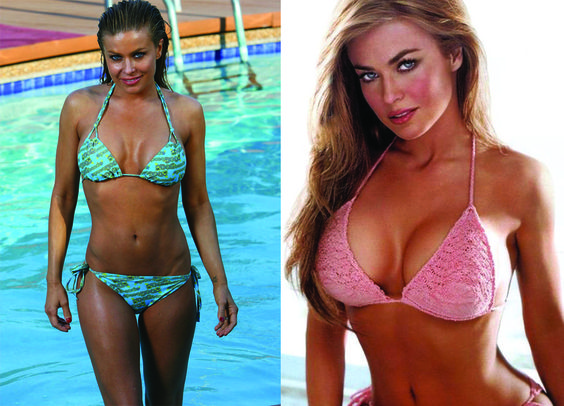 ~J   Carmen Electra...to much of a good thing !